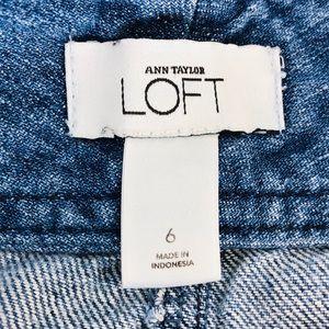 LOFT Skirts - LOFT Classic Denim Mini Skirt